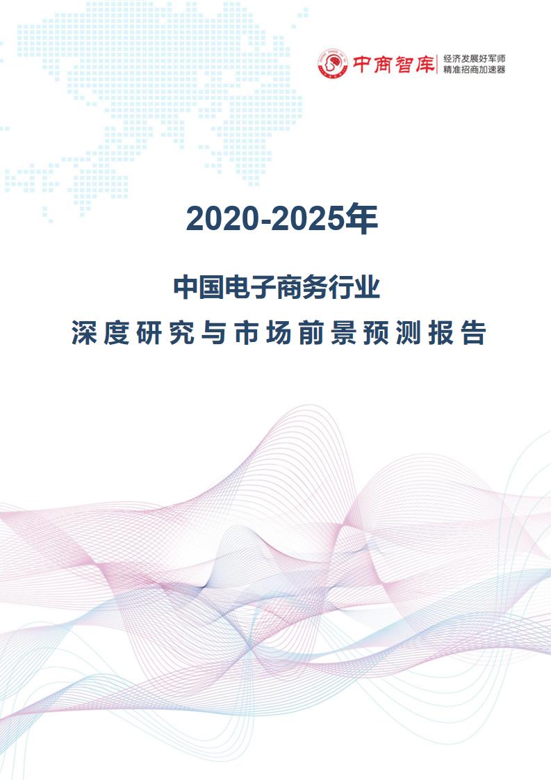 2020-2025年中国电子商务行业深度研究与市场前景预测